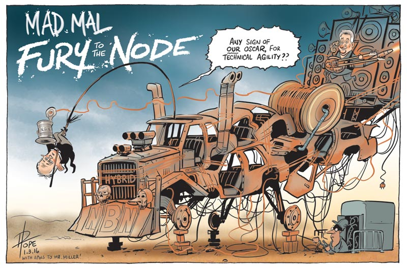Cartoon: the National Broadband Network