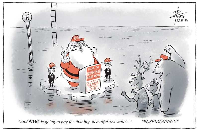 Cartoon: Make the North Pole great again