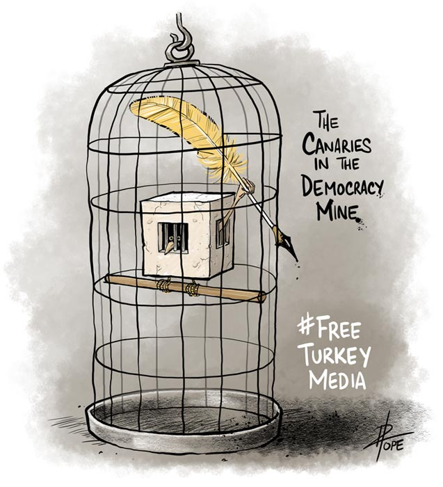 Cartoon: Free Turkey Media