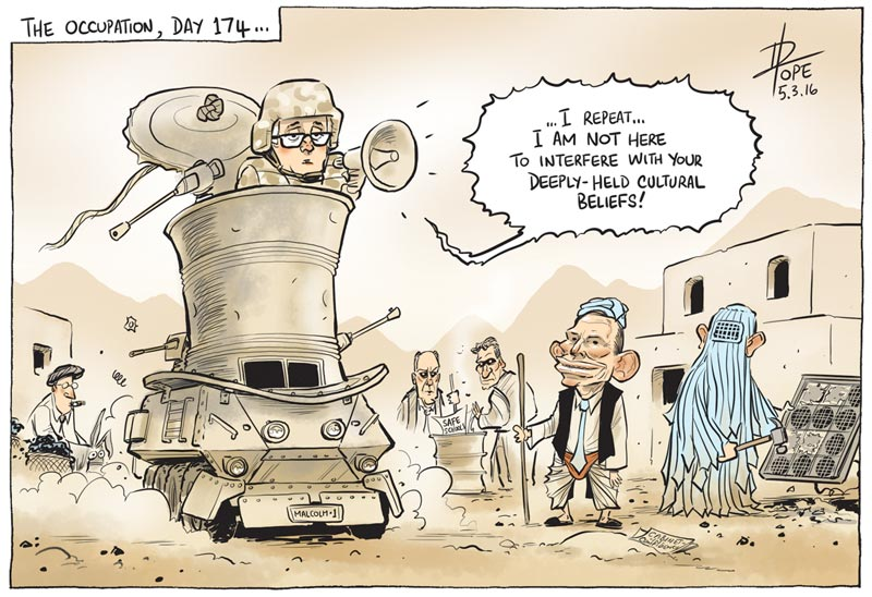 Cartoon: the Abbott insurgency