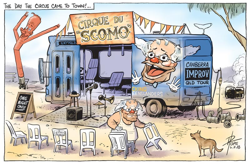 Cartoon, Cirque du Scomo