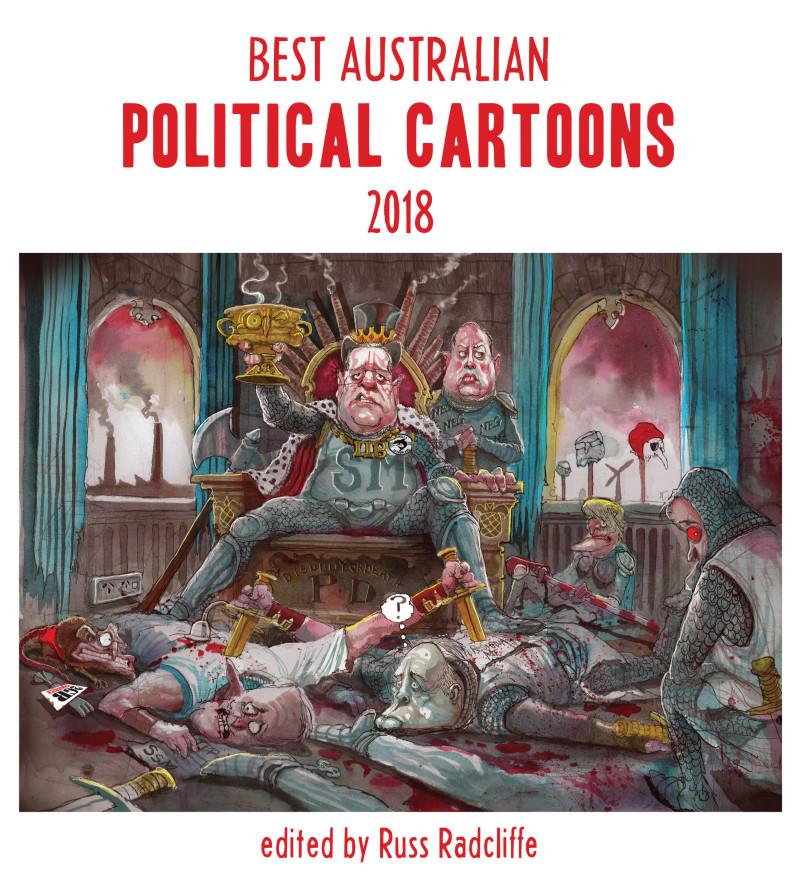 Cover, Best Australian Political Cartoons 2018